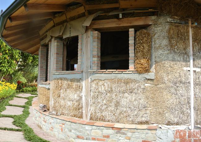 Costruire case di paglia bricoportale fai da te e bricolage for Costruire case