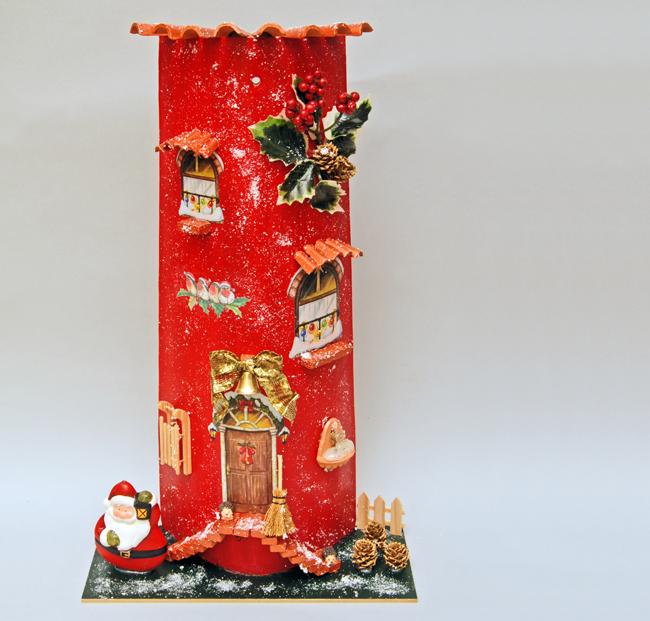 Tegole decorate a mano fai da te d coupage guida alla - Tegole decorate istruzioni ...
