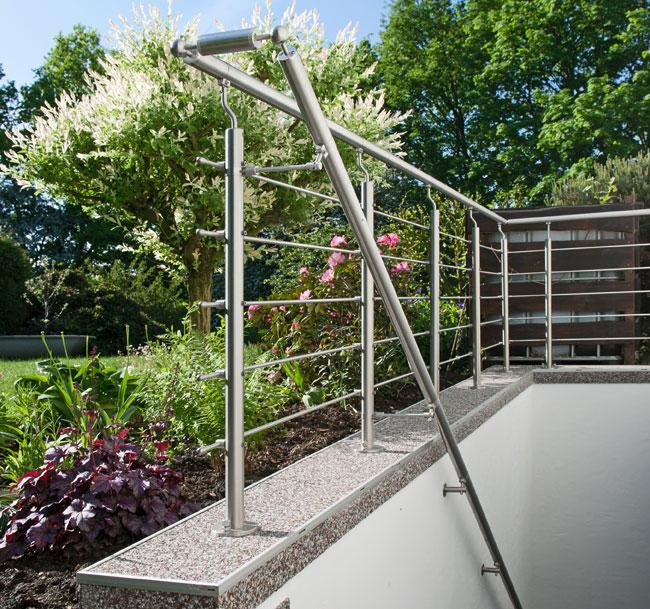 Come installare una balaustra in acciaio 19 foto passo passo - Ringhiere per giardino ...