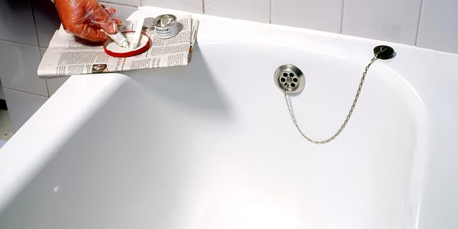 Pittura per vasca da bagno good smalto per vasca da bagno sanitari piastrelle rame with smalto - Vernice per vasca da bagno ...