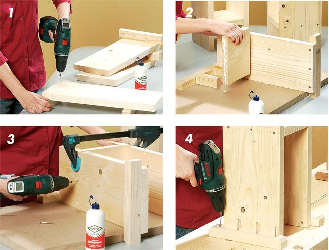 Tavolini In Legno Fai Da Te : Tavolo fai da te in legno bricoportale fai da te e bricolage