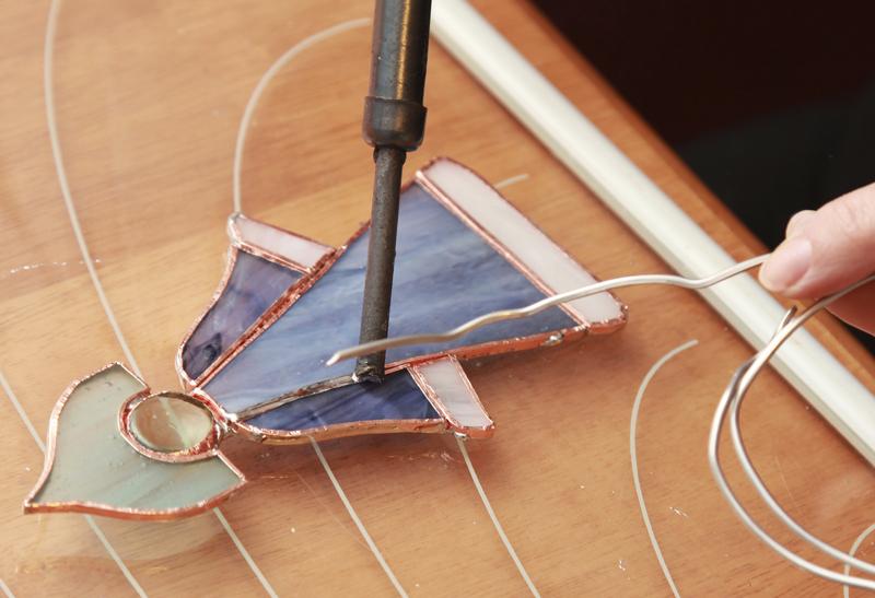 Lampade Tiffany - Bricoportale: Fai da te e bricolage