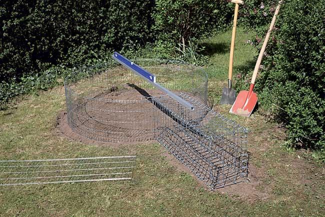 costruire un laghetto fuori terra