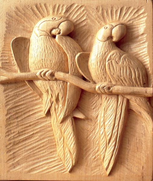 Bassorilievo fai da te del legno | Attrezzi, tecnica ed esempi