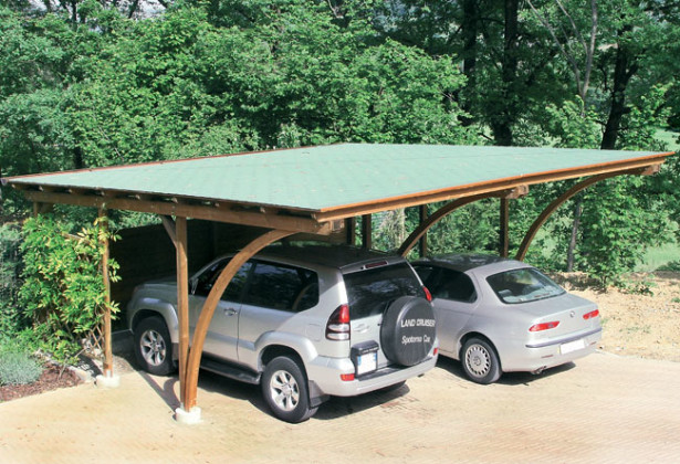Carport in legno | Progetto e installazione