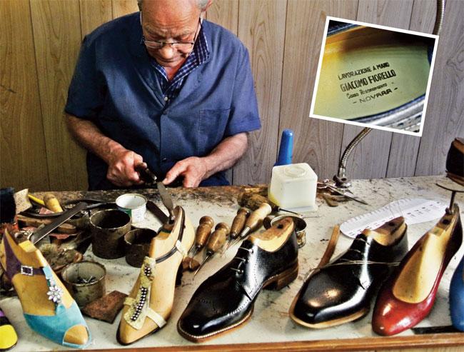 scarpe fatte a mano, scarpe artigianali, calzature fatte a mano, calzature artigianali, scarpe Giacomo Fiorello, giacomo Fiorello, lavorazione a mano