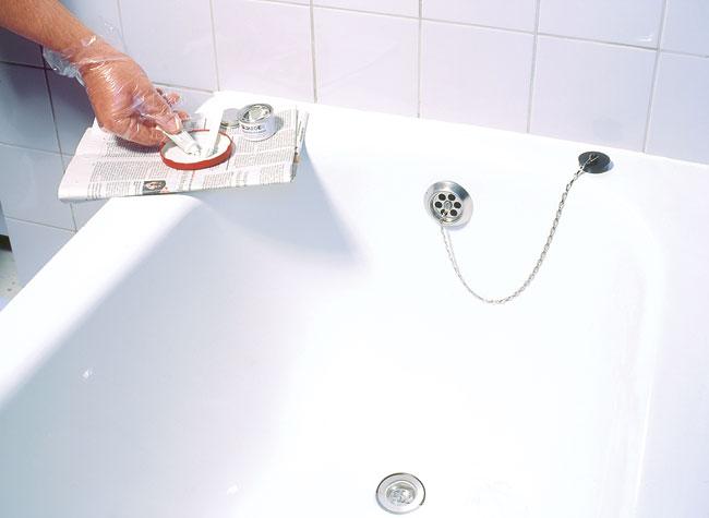 Smaltare vasca da bagno bricoportale fai da te e bricolage - Vernici per vasche da bagno ...