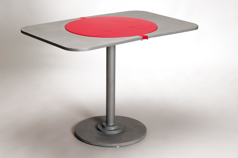 Tavolo tondo allungabile
