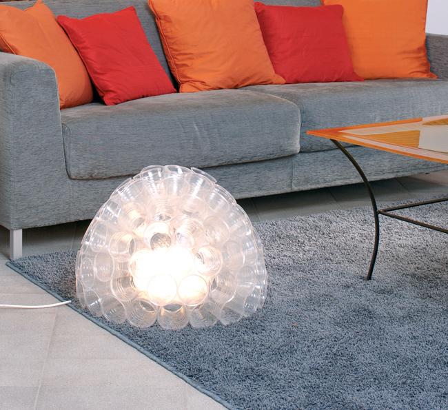 diffusore, diffusore fai da te, diffusori, diffusore luminoso, lampada diffusore, lampada da terra fai da te, lampada da terra, bicchieri di plastica,