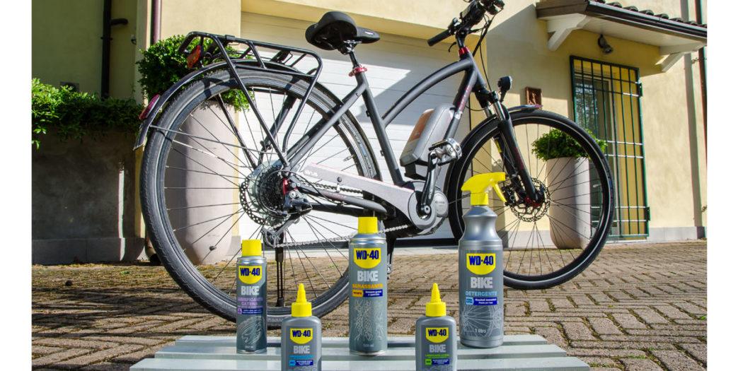 manutenzione bicicletta