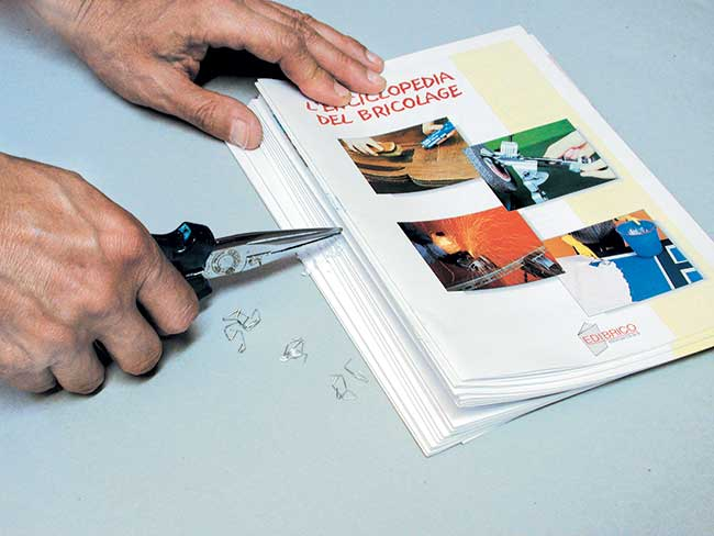 Favoloso Rilegare un libro, fascicoli, fogli e dispense a mano ZN66
