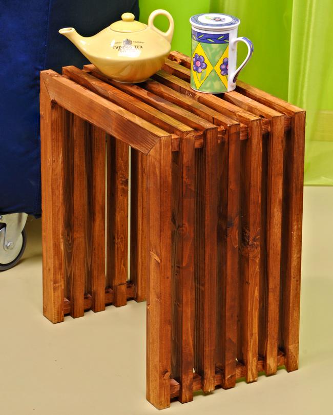 Tavolino fai da te di design bricoportale fai da te e - Costruire mobili in legno fai da te ...