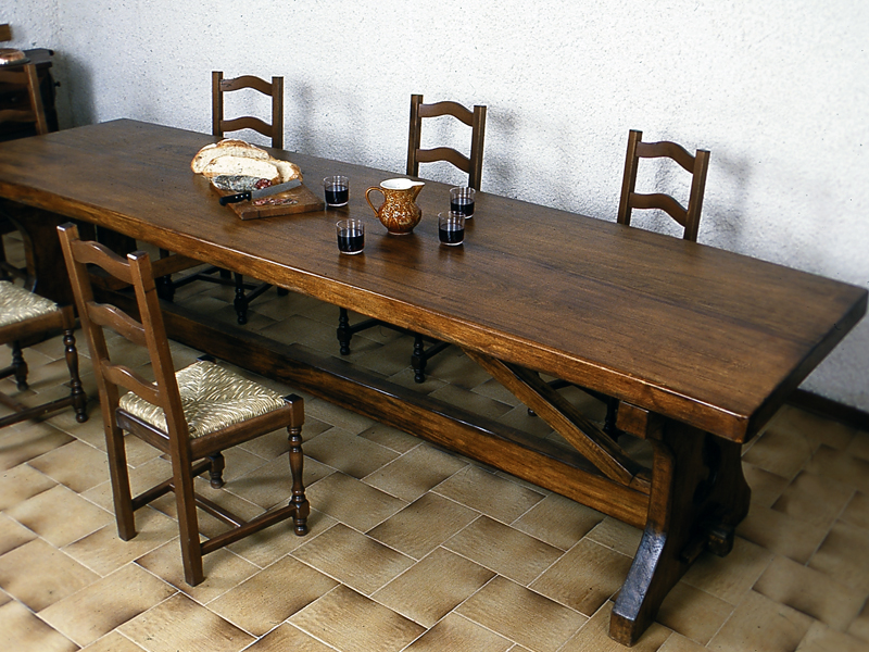 Tavolo fratino fai da te bricoportale fai da te e bricolage - Tavoli rustici fai da te ...