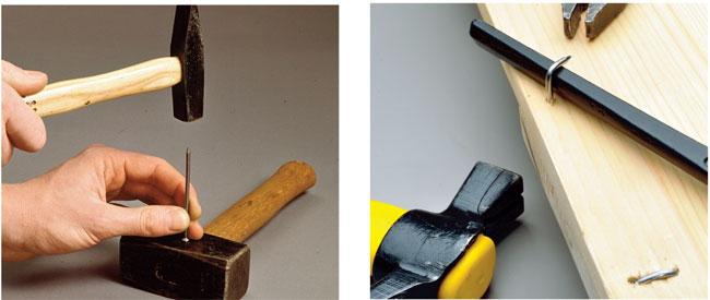 trucchi utilizzando i chiodi per legno