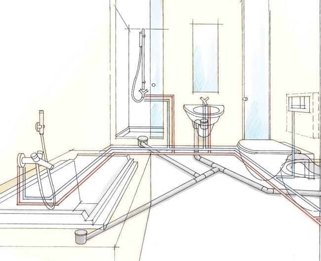 Dimensione Tubi Scarico Bagno ~ Ispirazione design casa