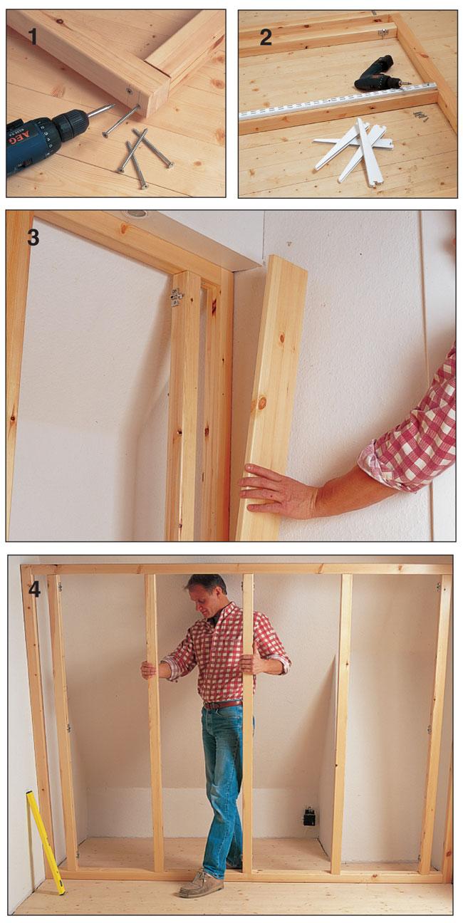 Come Costruire Un Armadio A Muro Con Ante Scorrevoli.Armadio A Muro Fai Da Te Ante Scorrevoli Elegant Ante Scorrevoli