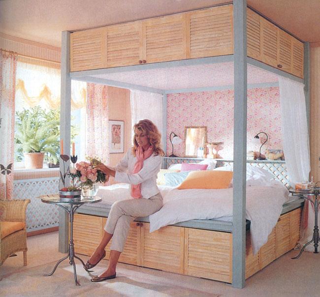 Costruire un letto a soppalco fai da te con scrivania dedicata - Letto contenitore fai da te ...