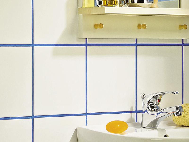 Fughe colorate bricoportale fai da te e bricolage - Stuccare piastrelle bagno ...