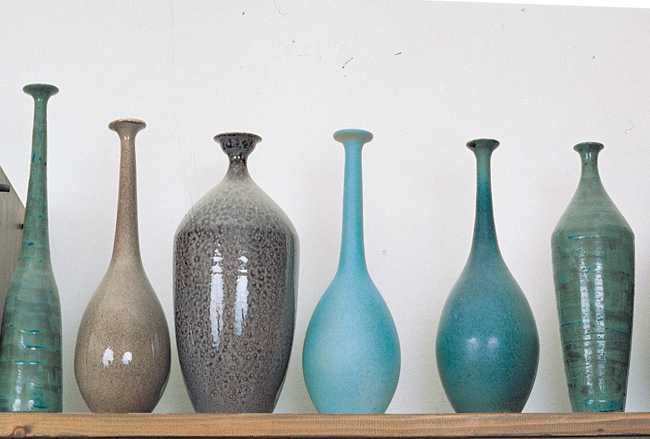bottiglie di argilla
