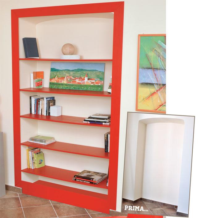 Come costruire una casetta di legno da giardino for Libreria fai da te