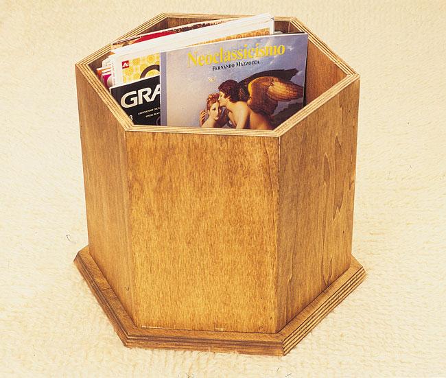 Lampada di legno fai da te bricoportale fai da te e for Portariviste fai da te