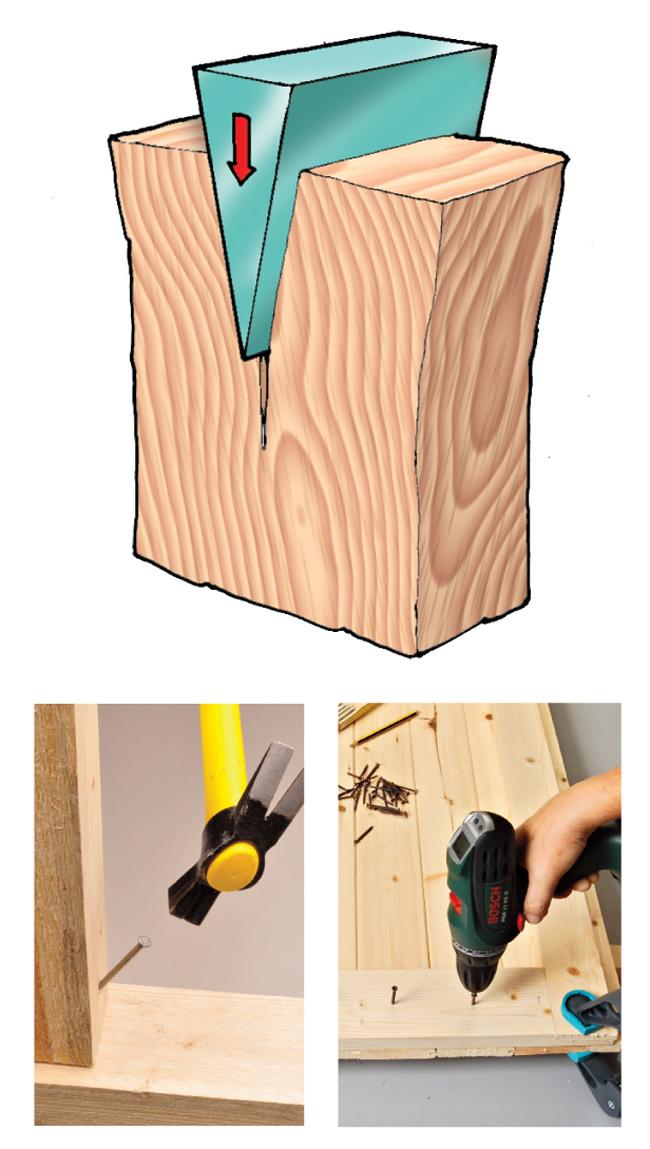 fendibilità legno