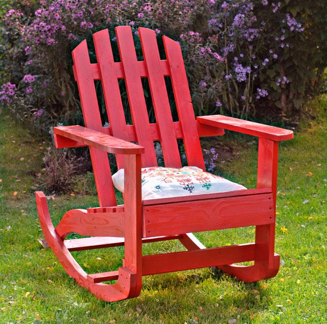 Costruire una sedia a dondolo in legno bricoportale fai - Sedia a dondolo ...