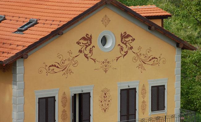 Decorazioni pittoriche fai da te bricoportale fai da te - Pitturare casa fai da te ...