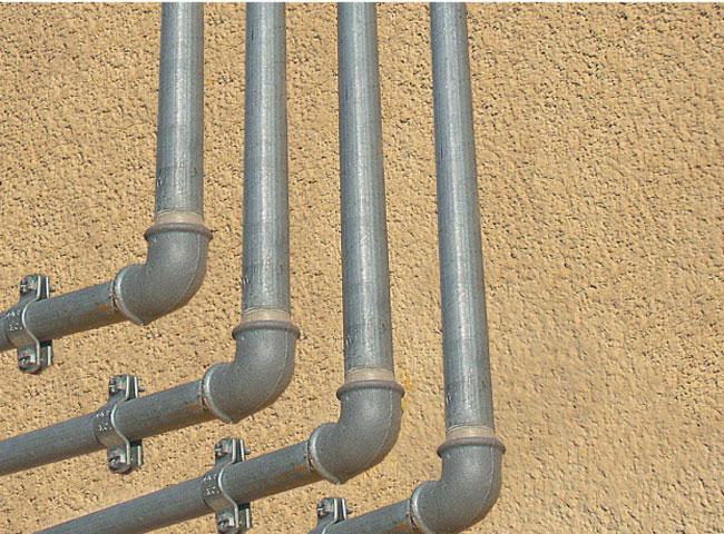Impianto di adduzione nei dettagli ristrutturare casa bricoportale - Tubi a vista in casa ...