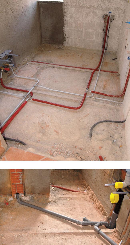 Impianto idraulico bagno schema e progetto bricoportale fai da te e bricolage - Schema impianto scarico bagno ...