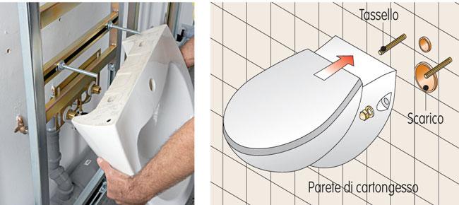 Come eseguire il montaggio dei sanitari sospesi guida dettagliata bricoportale fai da te e - Olio da bagno fai da te ...