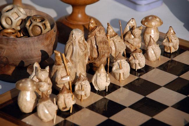 scacchi fai da te, costruire scacchi, scacchi di legno, scacchi in legno