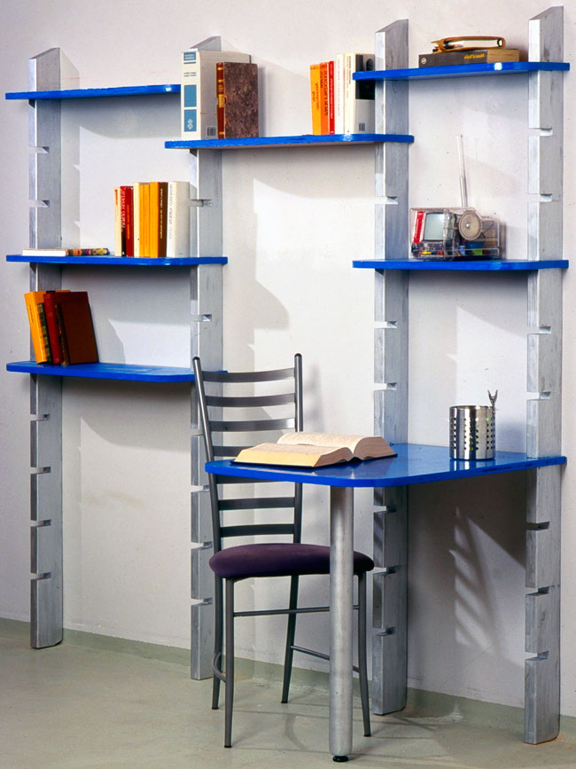 Scaffali modulari fai da te bricoportale fai da te e for Scaffali libreria in legno