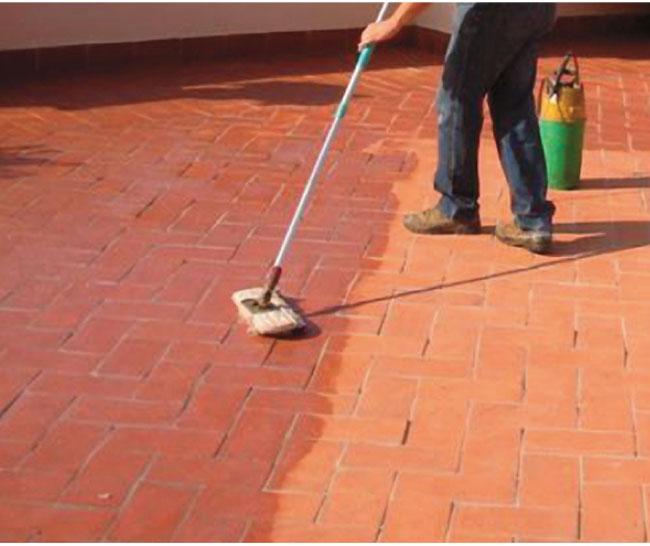 Trattamento dei pavimenti in cotto bricoportale fai da - Fai da te pavimento esterno ...
