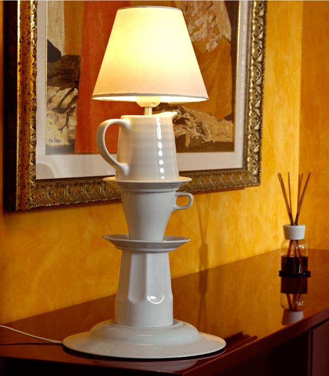 Abat-jour con le ceramiche fai da te - Bricoportale: Fai da te e bricolage