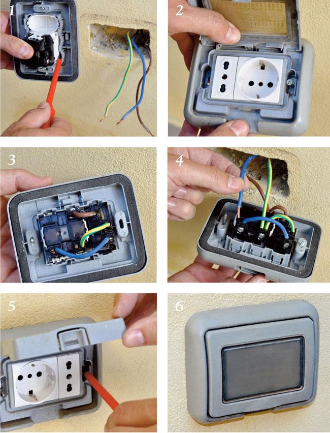 Come isolare una presa elettrica in sicurezza - Prese elettriche esterne ...