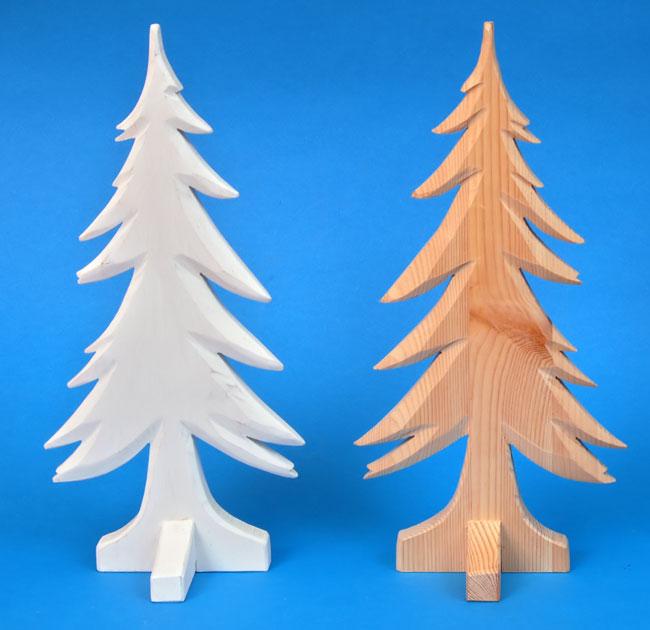 Alberi di natale fai da te con il legno bricoportale for Alberelli di natale
