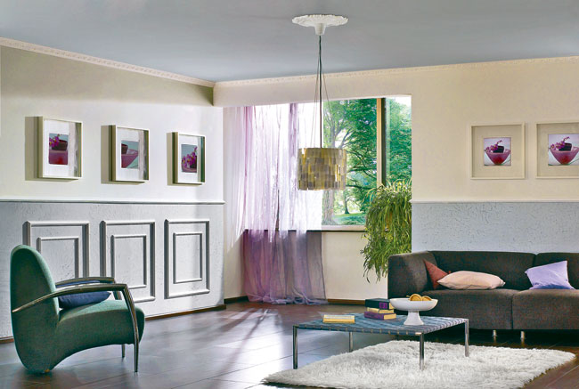 Cornici in polistirolo o in gesso guida installazione - Bordi per mobili ...