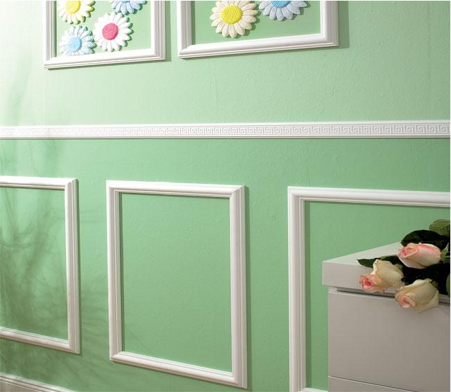 Cornici in polistirolo o in gesso guida installazione - Decorazioni pareti fai da te ...