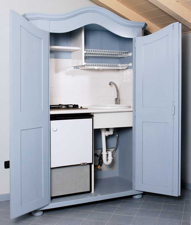 Cucina armadio fai da te bricoportale fai da te e bricolage - Cucina componibile fai da te ...