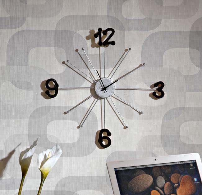 Orologio a muro fai da te bricoportale fai da te e for Idee per orologio da parete