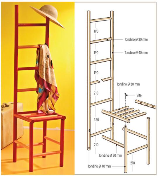 Mobili per l 39 ingresso categoria bricoportale il portale del fai da te - Costruire un mobiletto ...