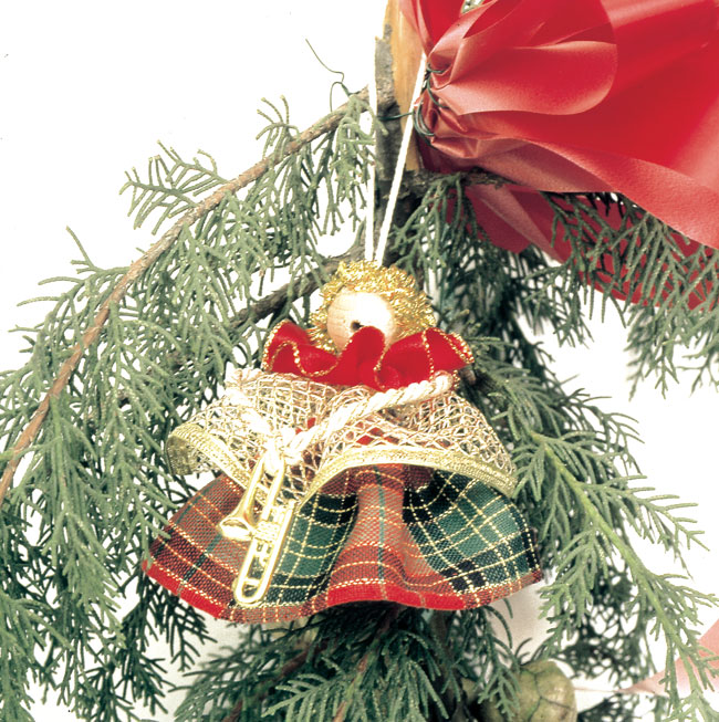 Angioletti natalizi fai da te