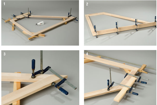 Come costruire un armadio angolare bricoportale fai da - Costruire un mobile in legno ...