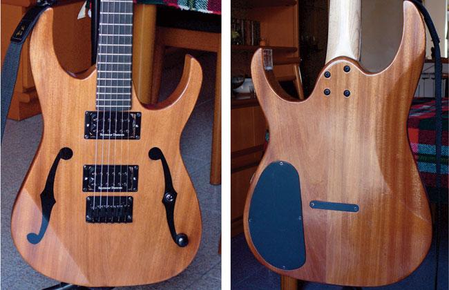 Costruire una chitarra elettrica | Tutti i passaggi illustrati