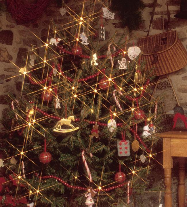 manutenzione luci natalizie