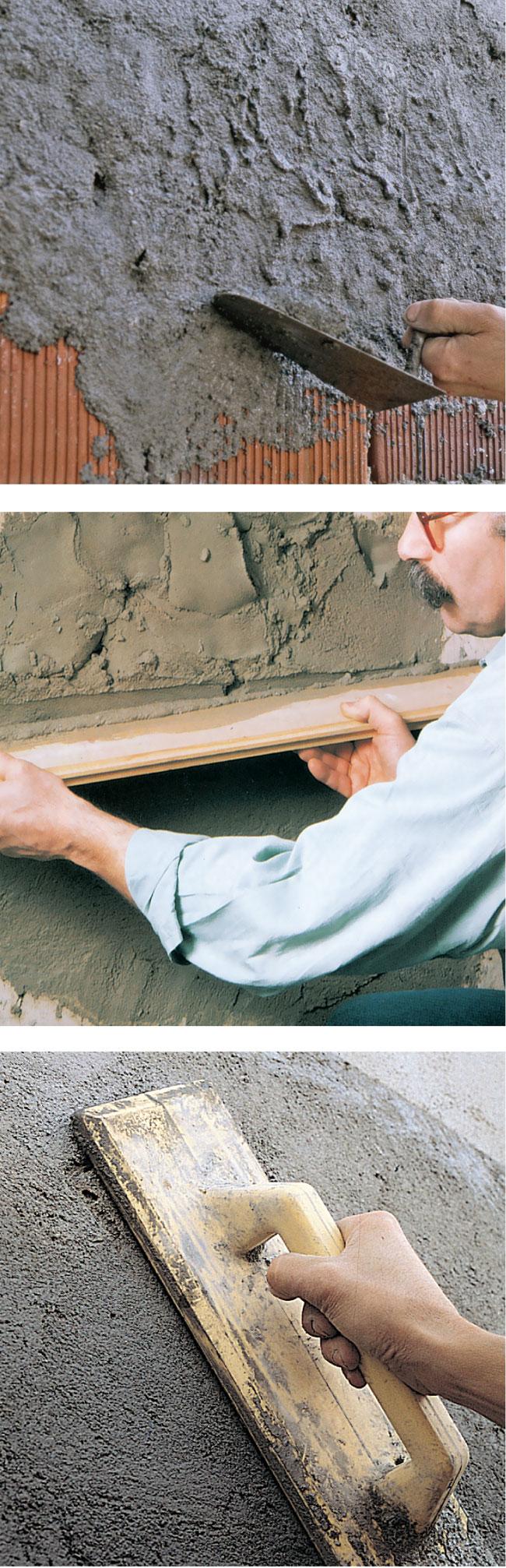 Intonacare una parete come applicare l 39 intonaco in modo perfetto - Spessore intonaco interno ...