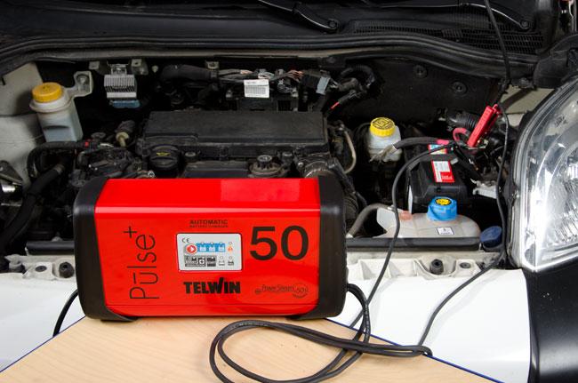 caricabatterie automatico, caricabatterie, telwin pulse 50,