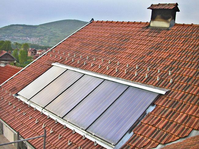 Pannello Solare Tetto Korea : Impianto solare termico fai da te guida completa per non