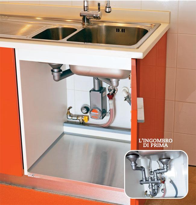 Curva tecnica salvaspazio bricoportale fai da te e bricolage - Scarico lavello cucina ...